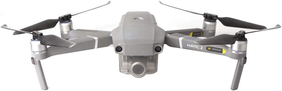 /& CCW Props pour DJI Mavic 2 Pro//Zoom iEago RC 2 Paires dh/élices Pliables en Fibre de Carbone 8743F R/éduction Rapide du Bruit CW