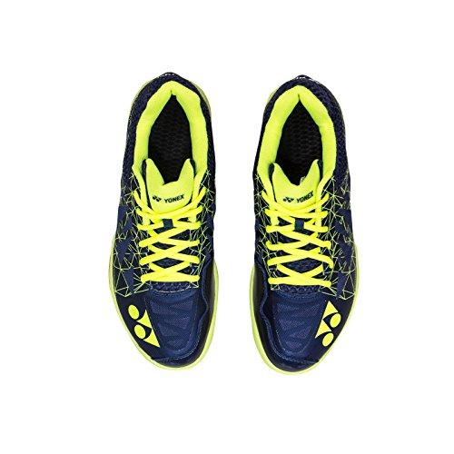 Shoes Badminton Yonex (Yonex Aerus 2 Men's Indoor Court Shoe Navy (8.5))