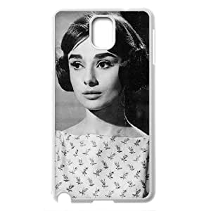 E-Isam Customized Print Audrey Hepburn Pictures Hard Skin Case Compatible With Samsung Galaxy Note 3 N9002 Protective Cover Shell