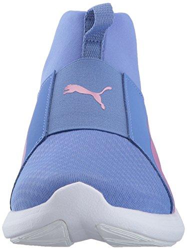 PUMA Frauen Rebel Mid Wns Cross-Trainer Schuh Baja Blau-rauchige Traube