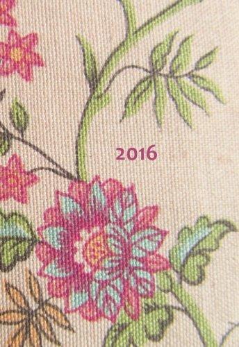 Mini Kalender 2016 - Blumen: DIN A6-1 Woche pro Seite
