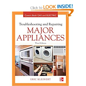 Troubleshooting and Repairing Major Appliances Eric Kleinert