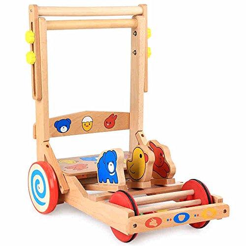 Juguete HAIZHEN Intelectual de Madera y Andador de Actividad Regalos para niños y niñas