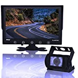 """Pyle PLCMTR92.5 Waterproof Rated Backup Camera & Monitor System with 9"""" Display"""