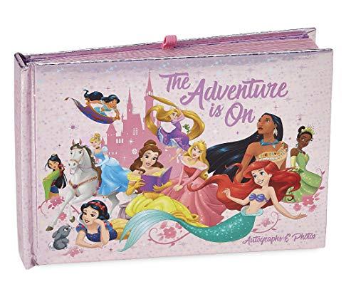 DisneyParks Princesses The Adventure is On Princess Autograph Photo Book