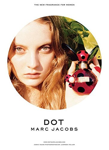 Scented **PRINT AD** With Codie Young For Marc Jacobs Dot **PRINT - Marc Jacobs Young