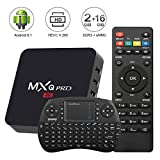 Android 8.1 TV Box with Free Mini Wireless Keyboard ,Kingbox MXQ Pro 2GB/16GB