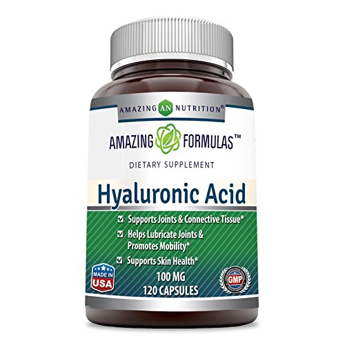 luronic Acid 100 mg 120 Capsules - Support healthy connective tissue and joints - Promote youthful healthy skin ()