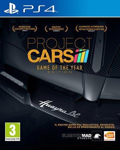 Namco Bandai Games Project Cars Game of the Year Edition, PlayStation 4 Básico PlayStation 4 Francés vídeo - Juego (PlayStation 4, PlayStation 4, Racing, Modo multijugador, E (para todos)): Amazon.es: Videojuegos