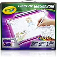 Crayola Light-up Tracing Pad - Pink, Coloring Board for Kids, Easter Gift, Ages 6, 7, 8, 9, 10