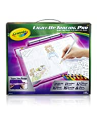 Crayola Light-up Tracing Pad - Pink, Coloring Board for Kids,...