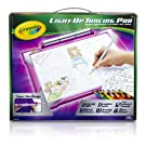 Crayola Light-up Tracing Pad - Pink, Coloring Board for Kids, Gift, Toys for Girls, Ages 6, 7, 8, 9, 10