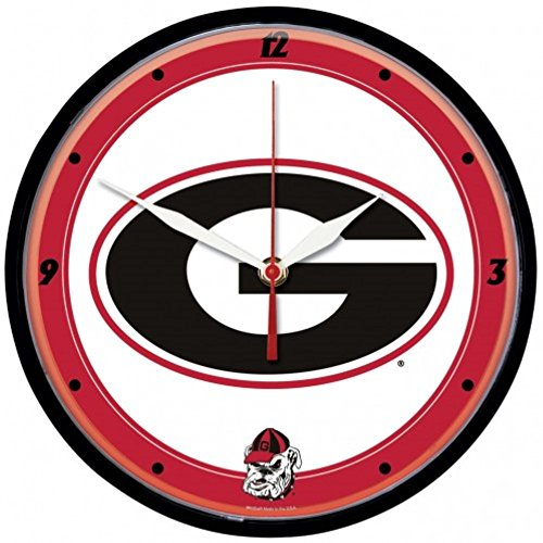 Georgia Bulldogs Round Clock - NCAA Georgia Bulldogs WinCraft Official Round Clock