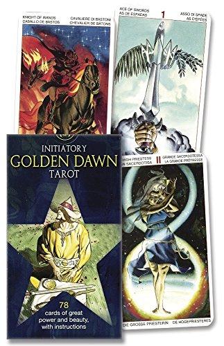 Initiatory Golden Dawn Tarot Deck (Lo Scarabeo Decks) (Tarot Cards Golden Dawn)