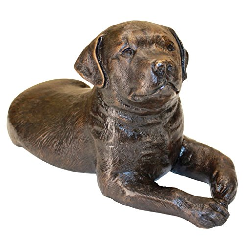 Design Toscano Labrador Puppy Dog Cast Bronze Garden Statue