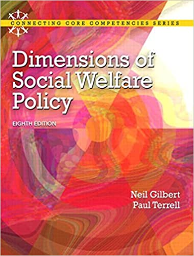 Dimensions Of Social Welfare Policy Connecting Core