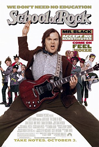 Image result for school of rock poster