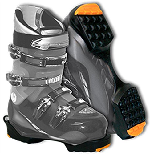 Yaktrax SkiTrax, Black/Orange, Large