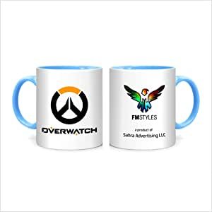 FMstyles Overwatch Game Design - MUG-BLUE-FMS505