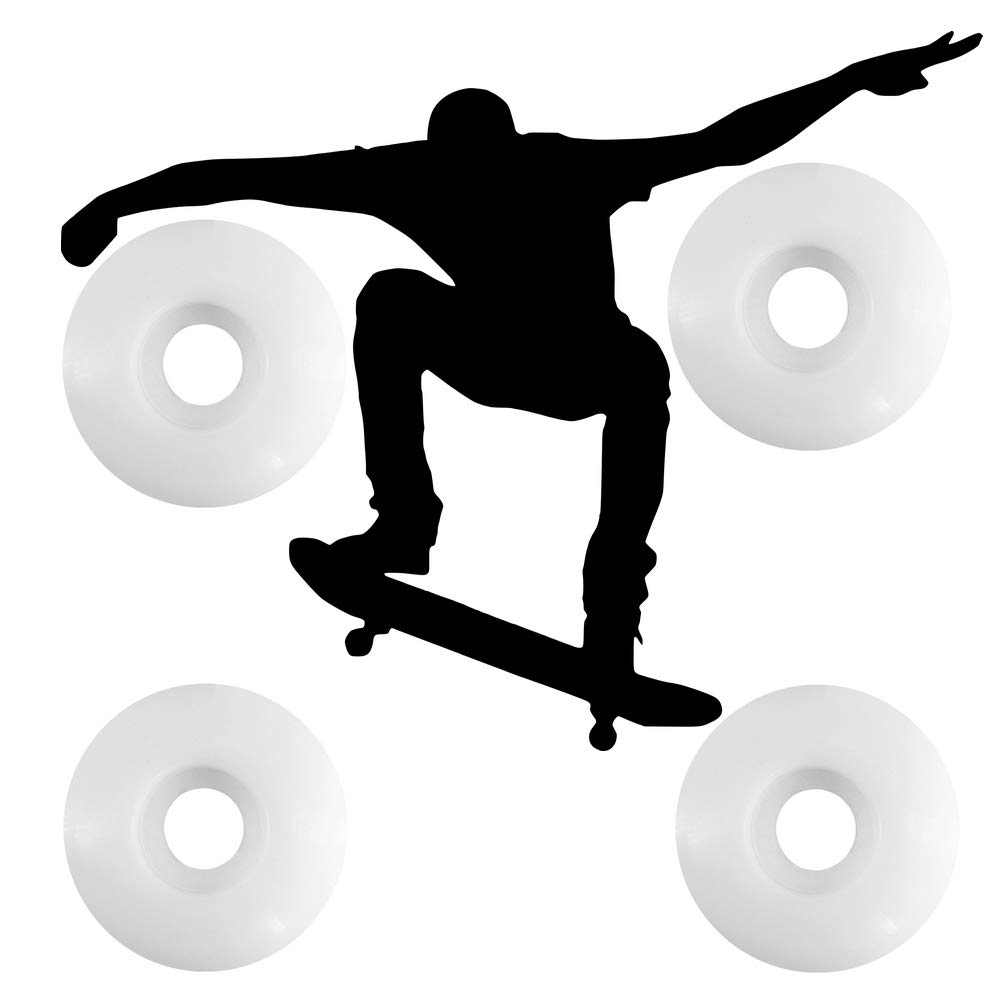 Ruedas de skateboard de 53 mm MATOP Ruedas de longboard 99a (juego de 4)