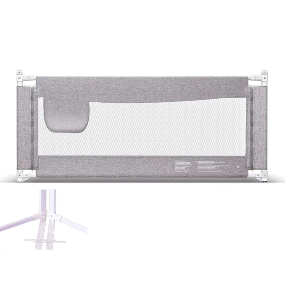 ベッド手すりセーフティネット子供用ベッド手すりベビーベッドガードレールグリッド子供用ベッド飛散防止ベッド (Size : 200cm) 200cm  B07SPX7LPR