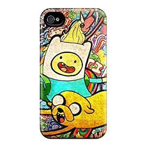 Premium Adventure Time Poster Back Covers Snap On Cases For Case Iphone 5/5S Cover