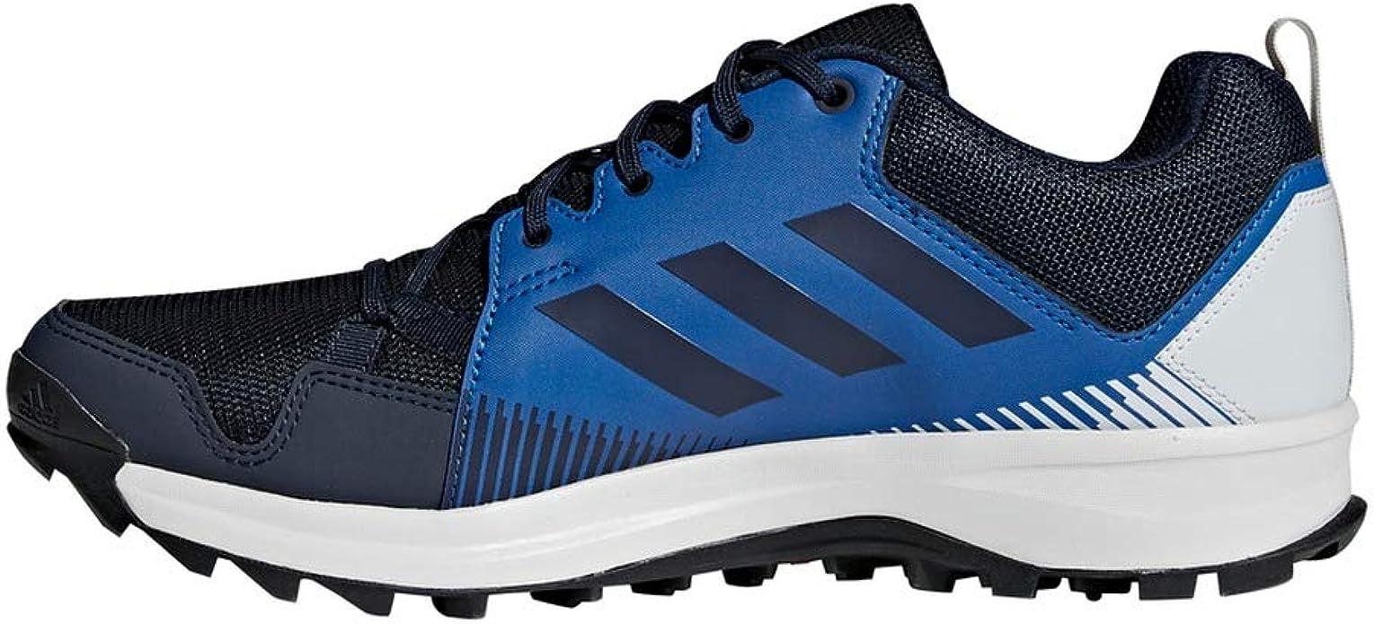 adidas Terrex Tracerocker Mens Trail Running Trainer Shoe Navy Blue - UK