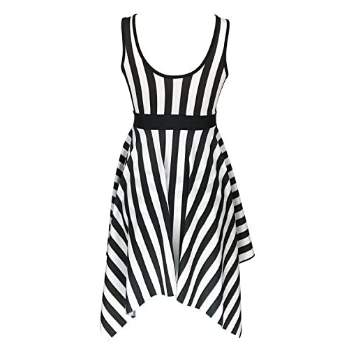 5376183aa6084 Women s One Piece Sailor Striped Bathing Suit Plus Size Cover up Swimdress  60%OFF