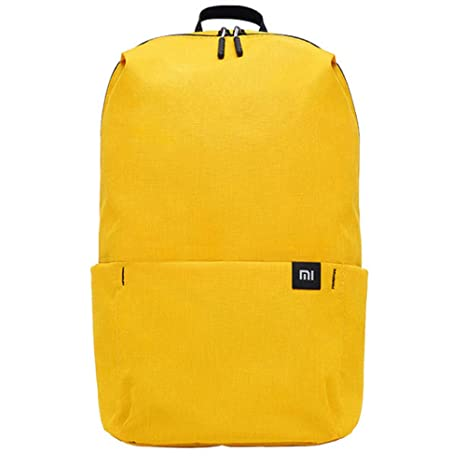 aaa68a446df ... Original xiaomi Mini Waterproof Lightweight Casual School Backpack for Teens  Kids Cycling Hiking Camping Travel Outdoor, One Size (Yellow)   Backpacks