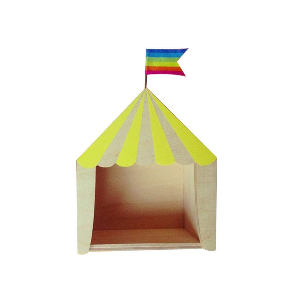 /Estanter/ía para Invernadero Ornamente Distressed Caja habitaci/ón de los Ni/ños Decoraci/ón Eruditter Circo Cabina/