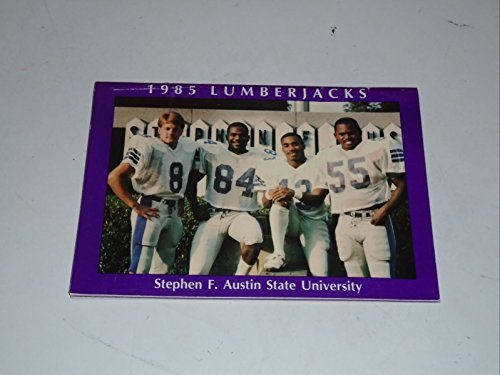 1985 STEPHEN F. AUSTIN STATE (TX) COLLEGE FOOTBALL MEDIA GUIDE EX-MINT BOX 31 by Ticket Stubs and Pubs