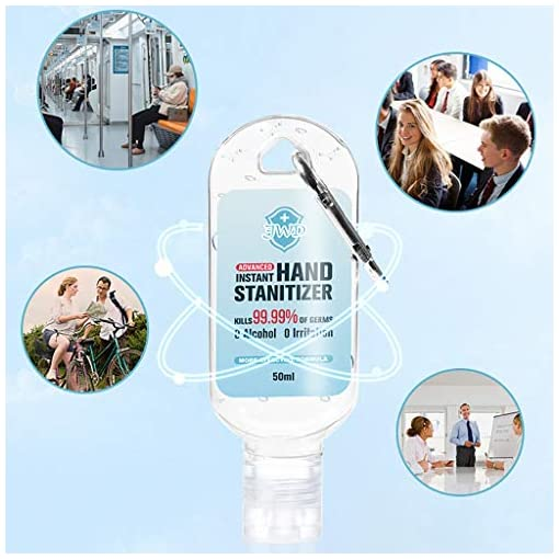 ZOTTOM Portable No-wash quick-drying Dvanced Hand sani-tizer Soothing Gel 50ML