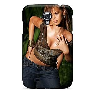 SherriFakhry Samsung Galaxy S4 High Quality Hard Phone Cases Allow Personal Design Fashion Rihanna Image [PbH10431EWxh]