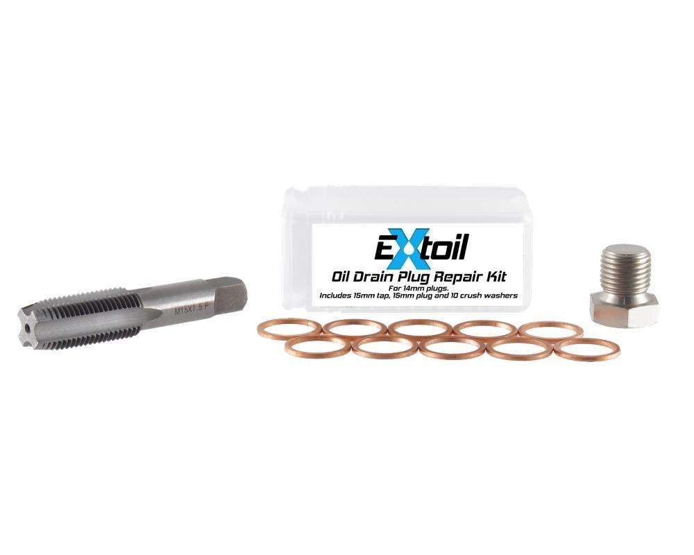 Amazon.com: 14mm Oil Pan Drain Plug Repair Kit: Automotive