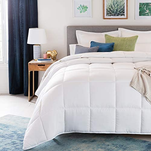 home, kitchen, bedding, duvets, covers, sets,  duvets, down comforters 1 discount Linenspa All-Season White Down Alternative Quilted Comforter deals