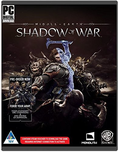 Middle-earth: Shadow of War [PC Code - Steam] Boxed UK Version