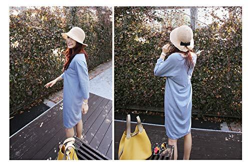 perspective khaki korea spring summer sun hat cap cotton bow foldable bucket sun women girls beach hat