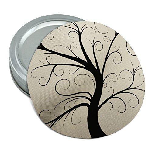 Tree of Life Round Rubber Non-Slip Jar Gripper Lid Opener