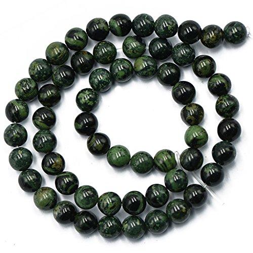 MagiDeal 6mm Round Kambaba Jasper Gemstone Beads Strand Jewellery Making Beads 15''