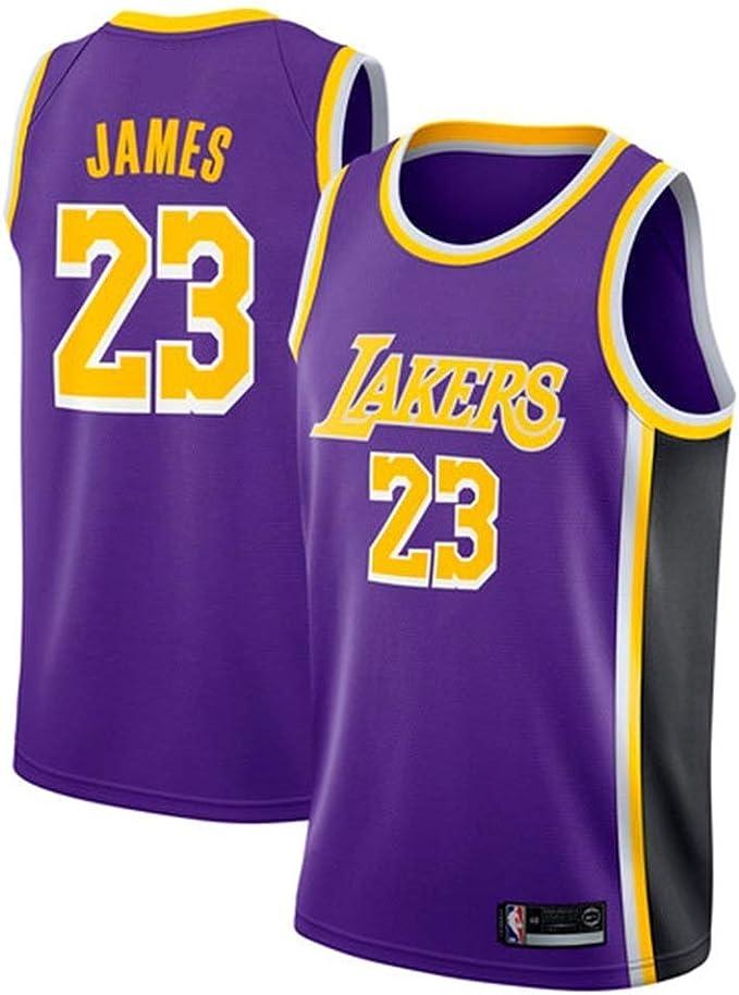 D&M Jersey para Hombre - Los Angeles Lakers # 23 Lebron Ropa De ...