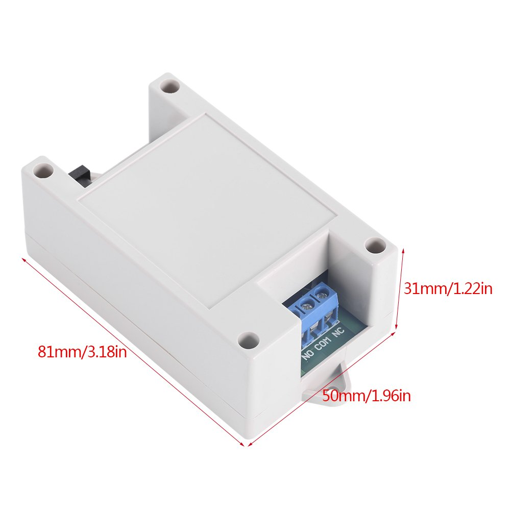 5V-24V 1 Channel Bluetooth Relay Mobile Remote 4 Commands Control Switch For Android Phone Bluetooth Relay