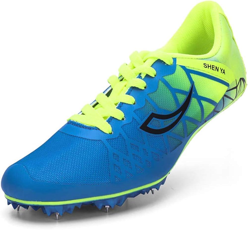 ZLYZS Zapatos De Atletismo Juvenil, Atletismo Racing Running Spikes Zapatilla Profesional De Goma para Atletismo para Adultos: Amazon.es: Zapatos y complementos