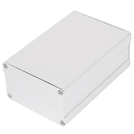 Caja cajas de aluminio de alimentación Project caja DIY 110 x 76 x 46 mm