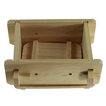 Amazon Com Wooden Tofu Press Tofu Maker Mold Tofu Diy