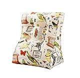 LQQGXL Cushion, Modern minimalist style cotton canvas cushions for office care cervical cushions (Color : A, Size : Medium)