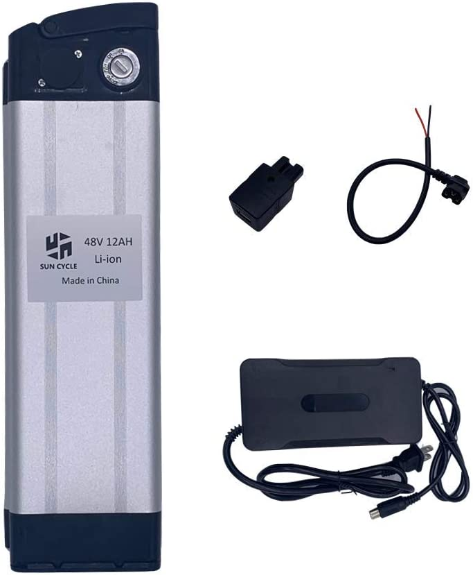 36V 10Ah 350W Li-ion Lithium Battery fr Electric Bicycle E-Bike Scooter 20A BMS