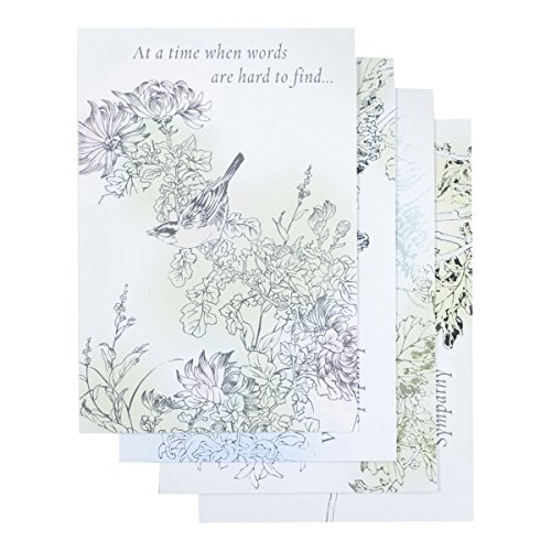 Sympathy - Inspirational Boxed Cards - Under His Wings
