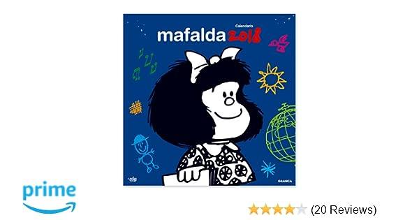 Mafalda 2018 calendario de pared spanish edition quino mafalda 2018 calendario de pared spanish edition quino 7798071445167 amazon books fandeluxe Images