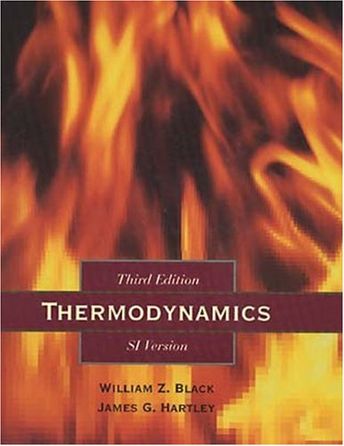 Thermodynamics, English/SI Version (3rd Edition)