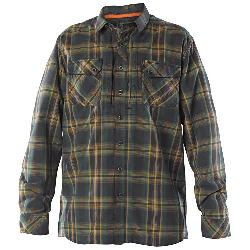 5 11 Flannel Sleeve Shirt Volcanic